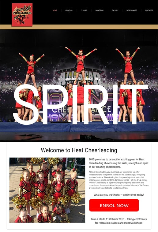 Heat Cheerleading